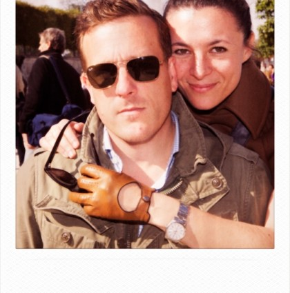 Garance & Scott @Fashion Week