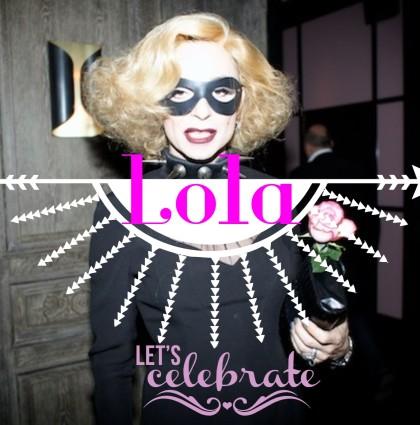 Lola @ Anniv de Régine